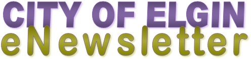 City of Elgin eNewsletter