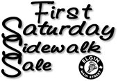 First Saturday Sidewalk Sale