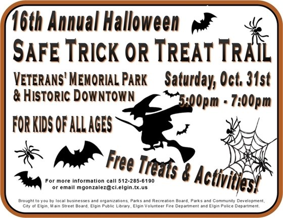 Safe Trick or Treat Trail
