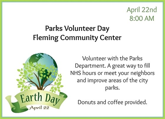 Parks Volunteer Day