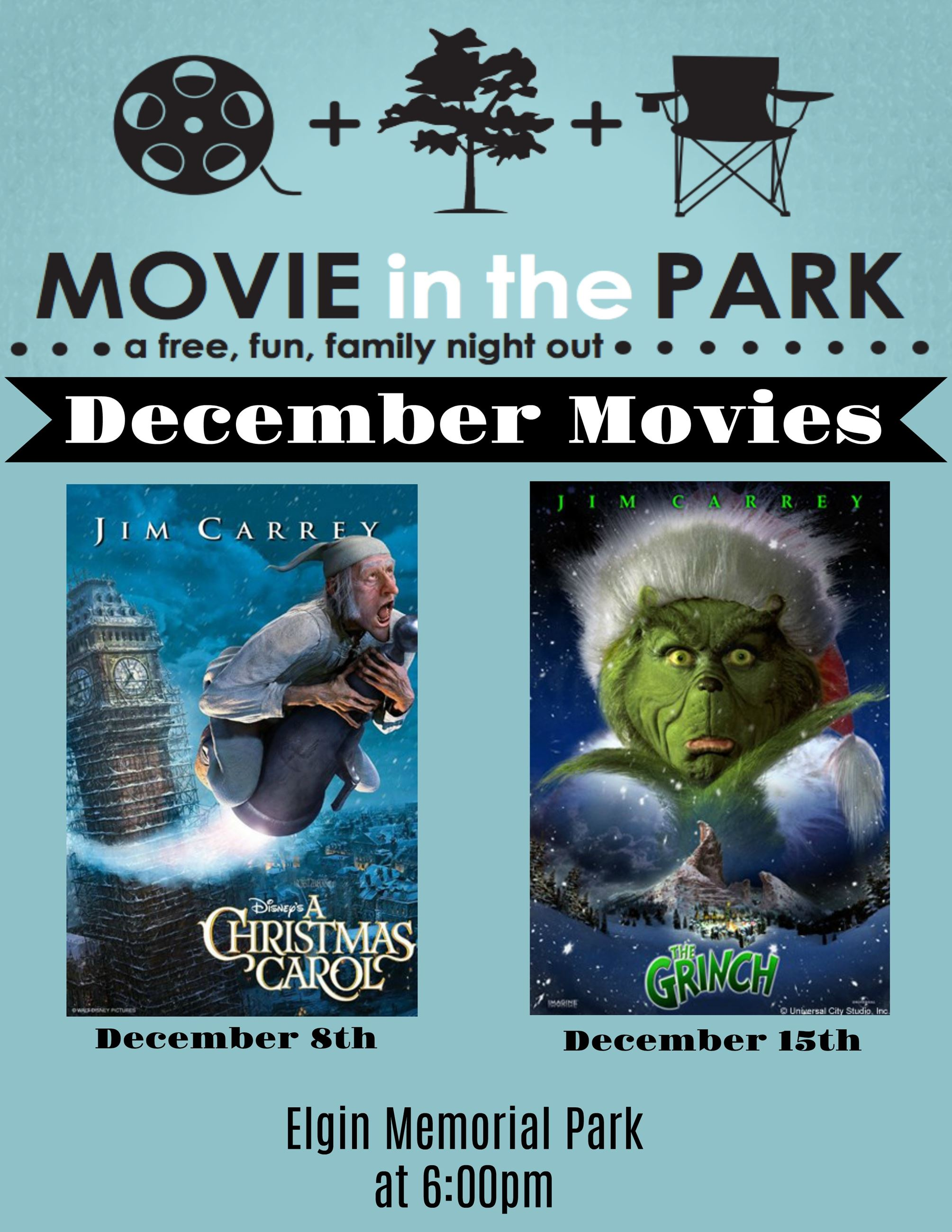December Movies Flyer