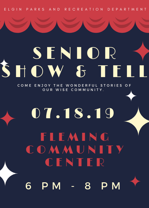 Senior Show and Tell