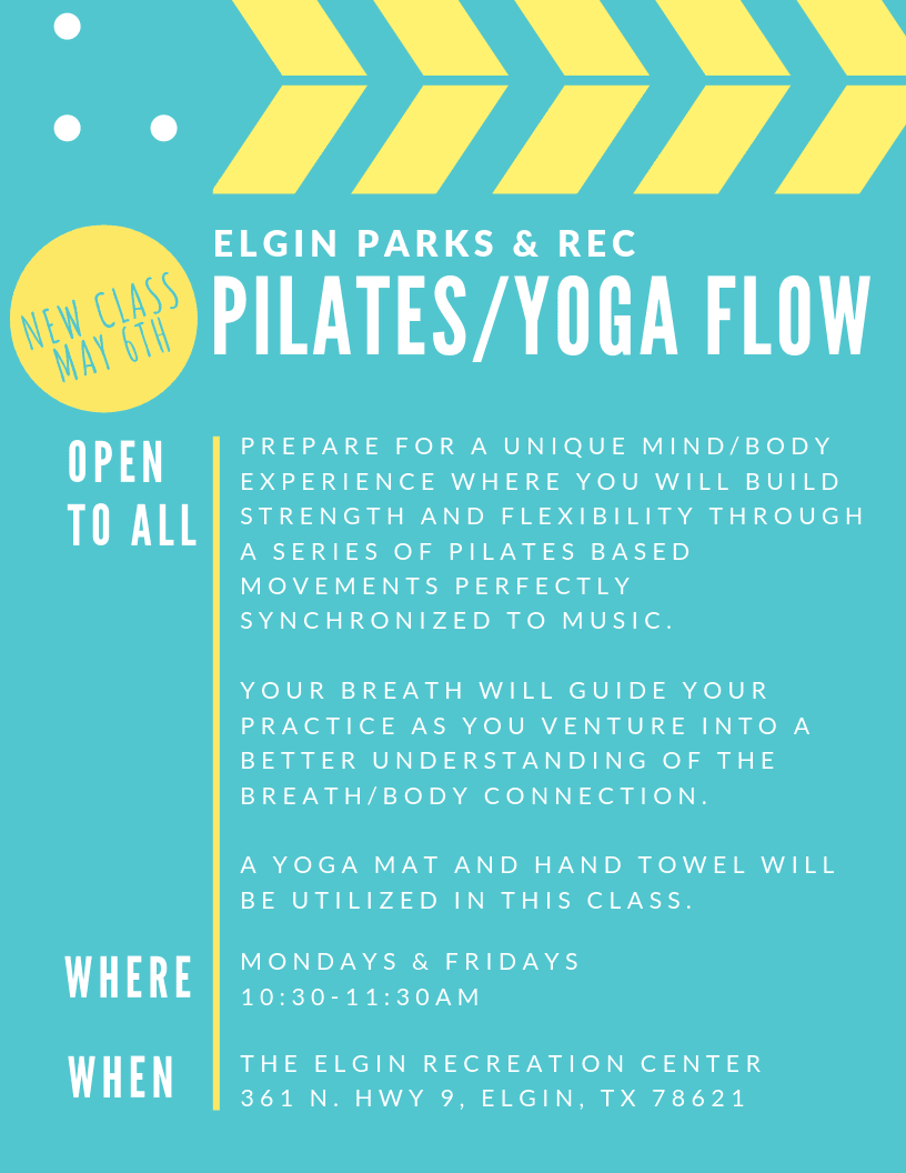 Pilates and Flow Yoga