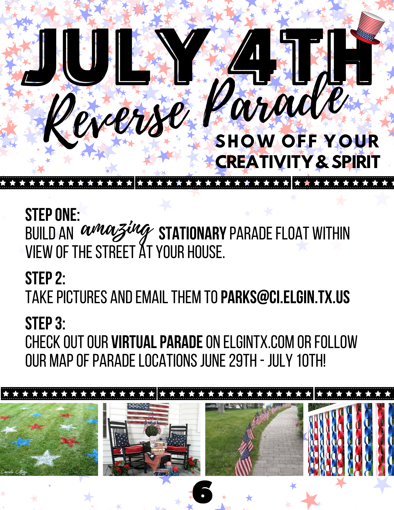Reverse July 4th Parade