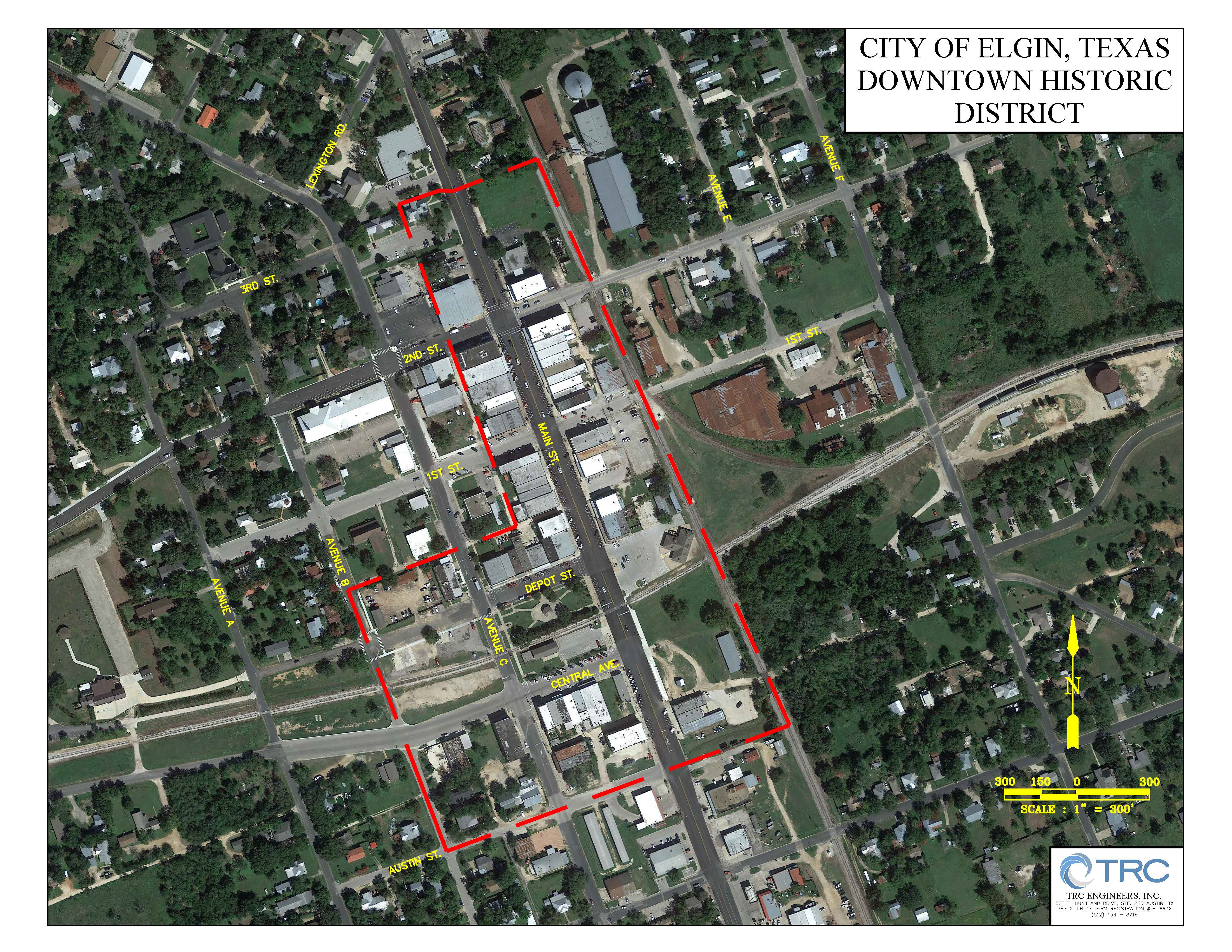 Historic Downtown District Map