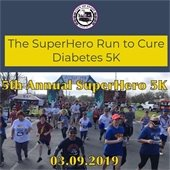 The SuperHero Run to Cure Diabetes 5K