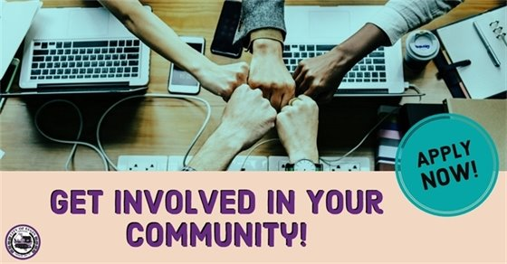 Get Involved in your community
