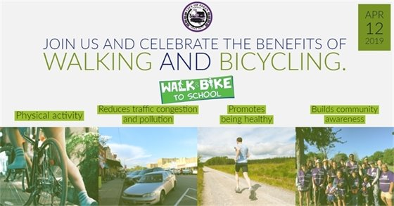 Join us and Celebrate the benefits of Walking and Bicycling