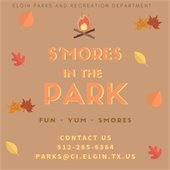 Smores in the park