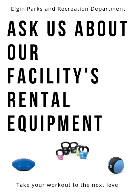 Ask us about our rental equipment