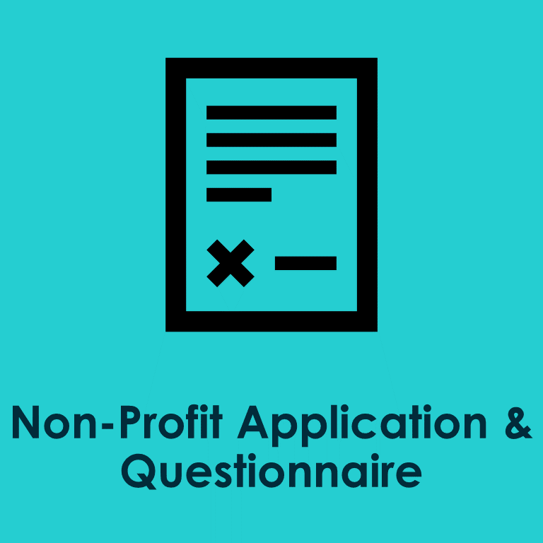 Non-Profit Application Questionnaire
