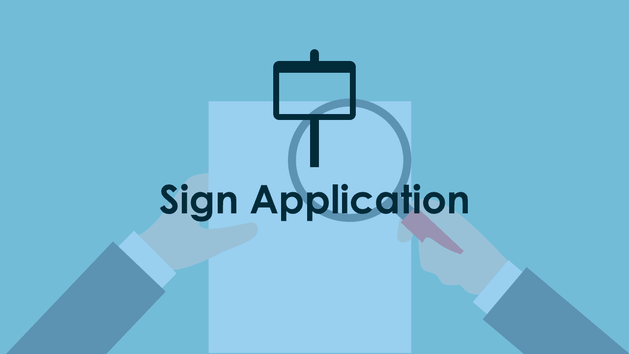 Sign Application