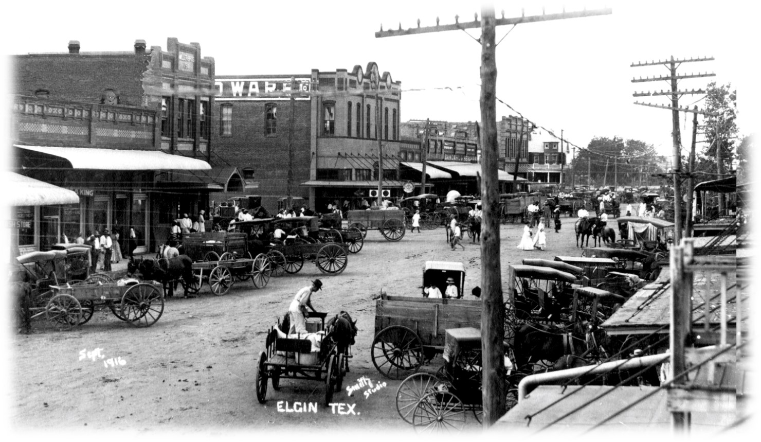 Downtown - Whitten Collection 1916