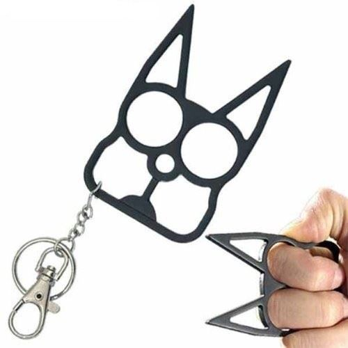cat brass knuckles
