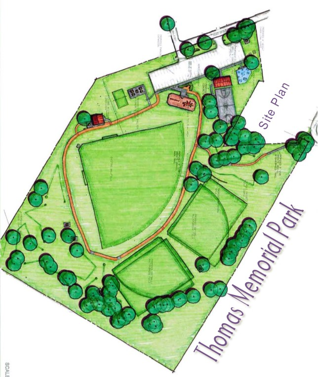 Thomas Memorial Site Plan